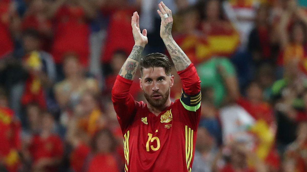 Ramos responde en Instagram con un 'story' de lo más patriótico
