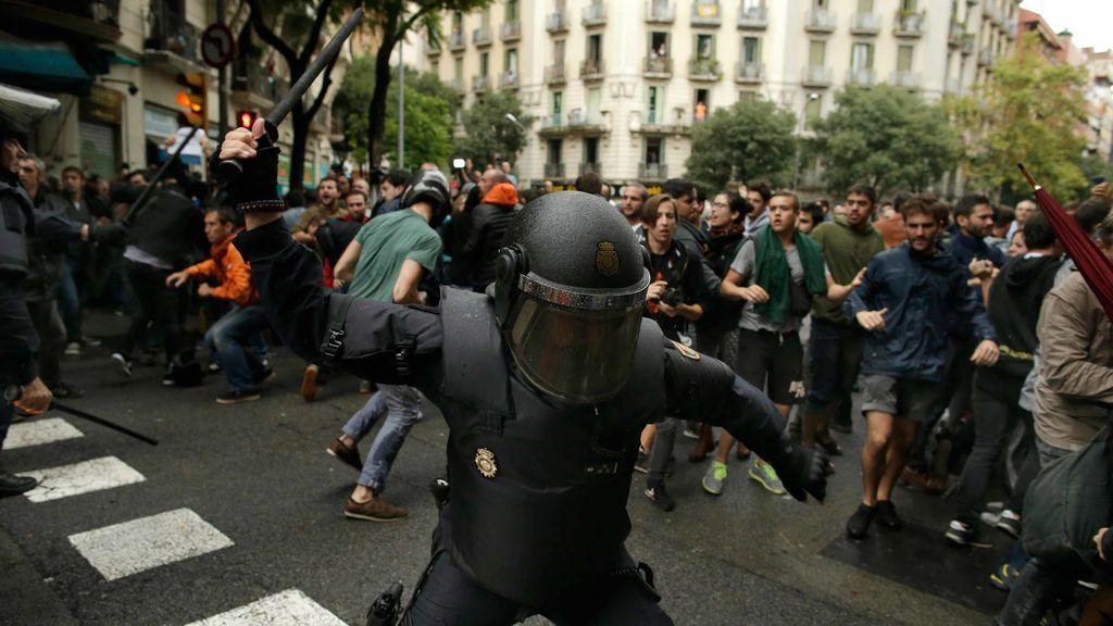 """La Fiscalía dice que las cargas policiales """"no afectaron a la convivencia ciudadana"""""""