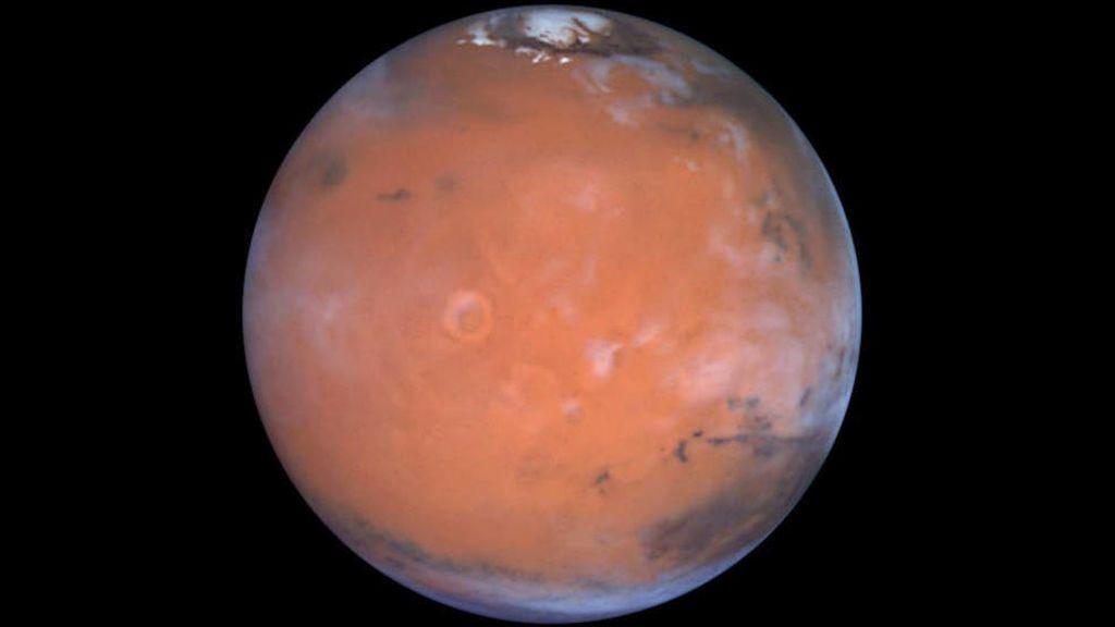 ¿Hielo en el ecuador de Marte?