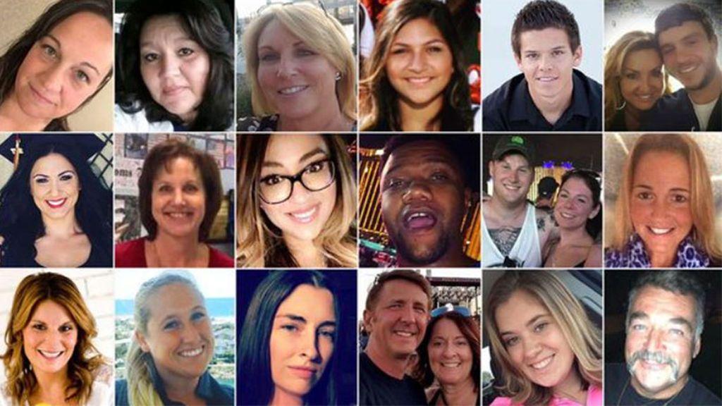 Las víctimas del tiroteo en Las Vegas:  59 vidas truncadas, sus historias, sus edades, sus rostros