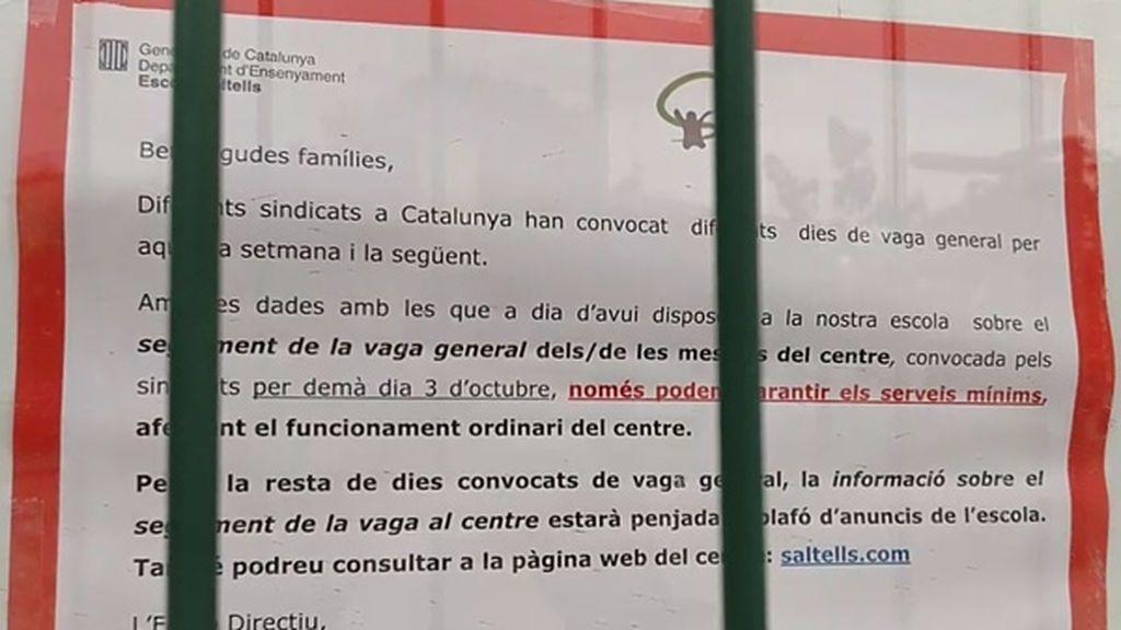 Colegio cerrado en Cerdanyola del Vallès, Barcelona