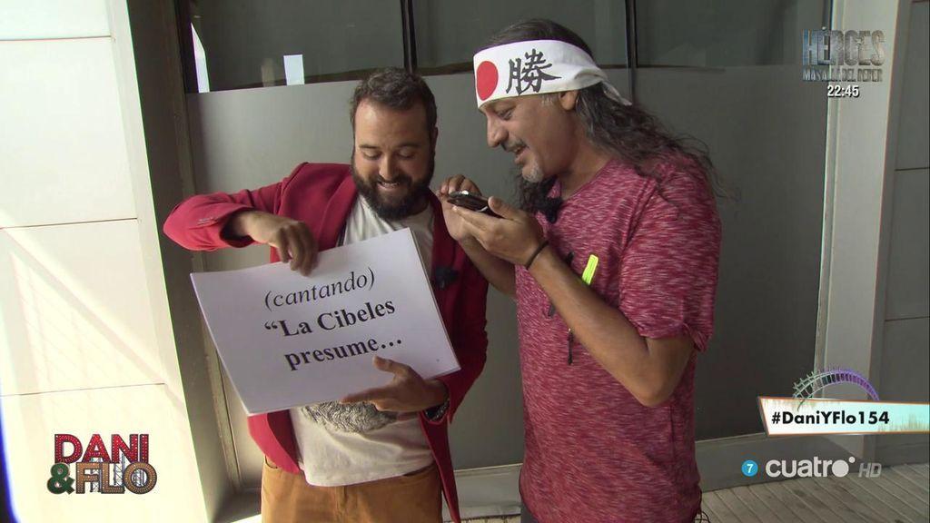 ¡El Dioni de Camela le dice al Arrebato que va a adaptar su himno del Sevilla para que sea del Real Madrid!