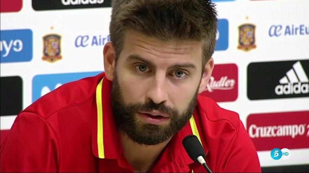 """Piqué: """"No es mi caso, pero ¿por qué un independentista no podría jugar con la Selección?"""""""