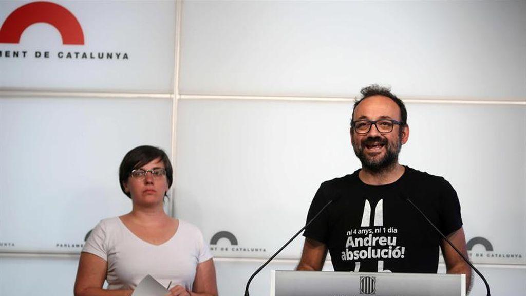 """La CUP anuncia que el pleno del lunes es """"para declarar la independencia"""""""