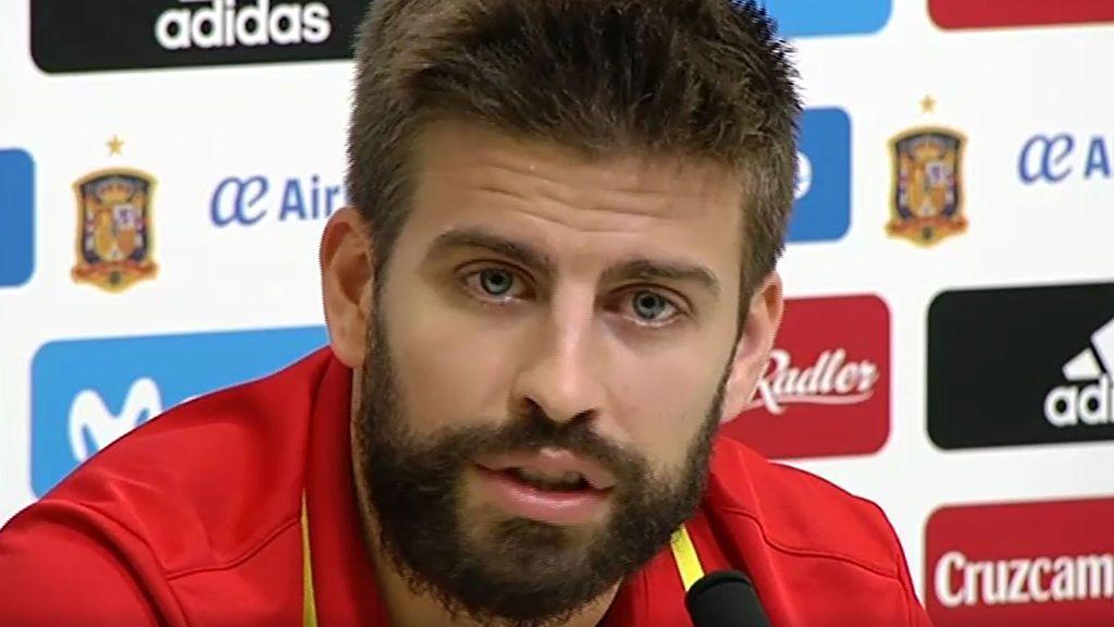 """Piqué: """"Cataluña es como el hijo que tiene 18 años y se quiere ir de casa"""""""