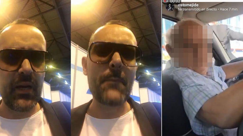 """La storie de Risto sobre su choque con un taxista: """"No me gusta el clima que noto en Madrid"""""""