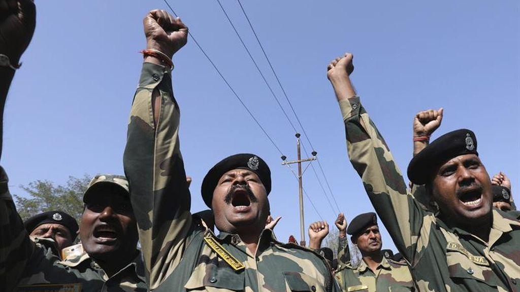 Disturbios Cachemira India