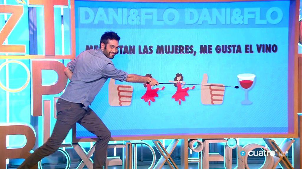 Un nuevo éxito de Dani Martínez: 'Soy un truhán, soy un señor'… ¡en emojis!