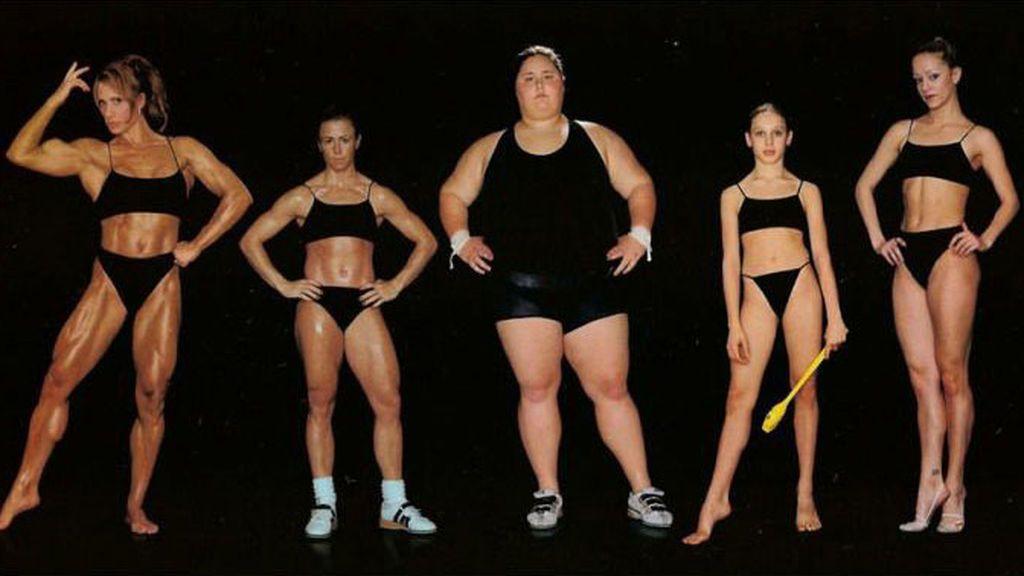 Diferentes cuerpos de deportistas según sus disciplinas