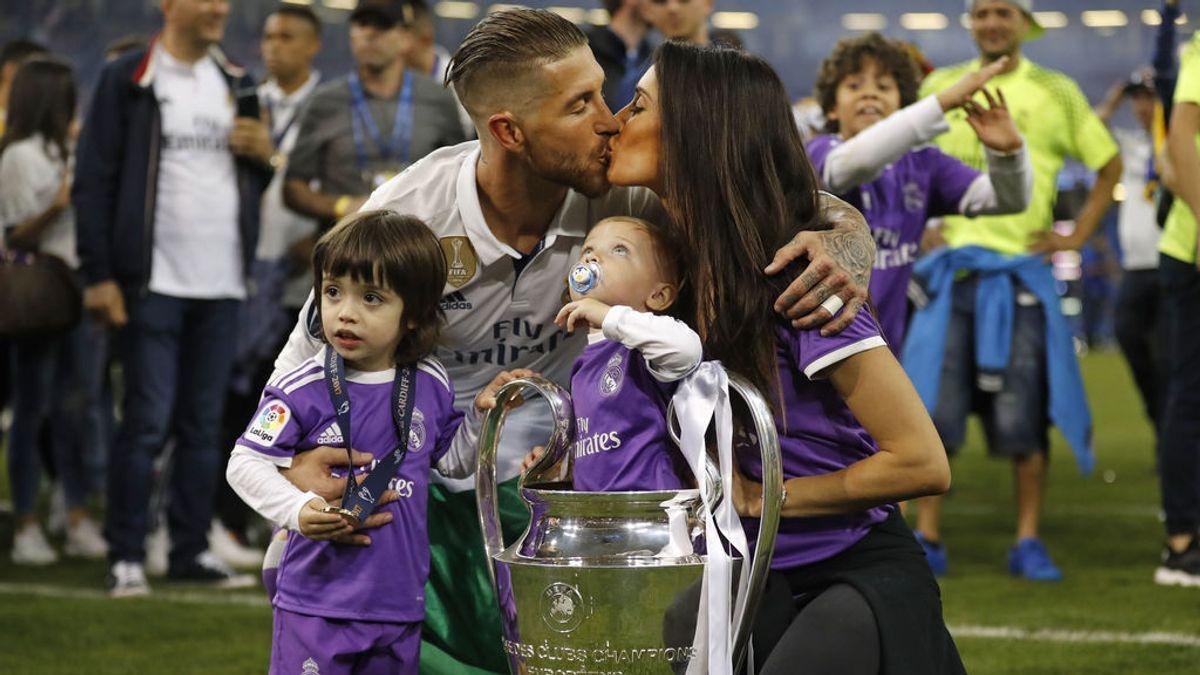 """Sergio Ramos anuncia que será papá por tercera vez: """"Estamos todos muy emocionados y muy felices"""""""