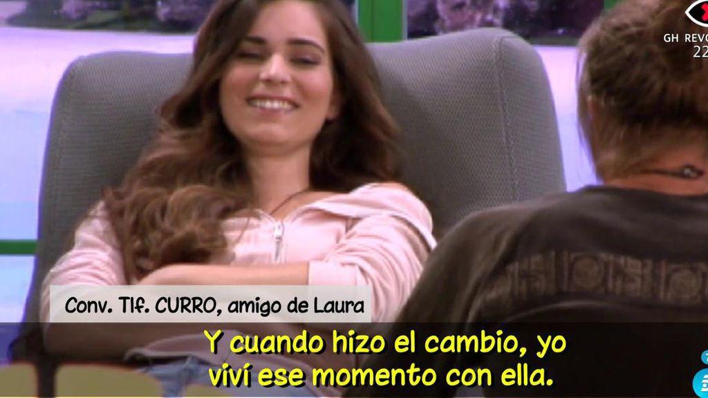 """Curro, amigo de Laura (GH): """"Es una persona muy valiente"""""""