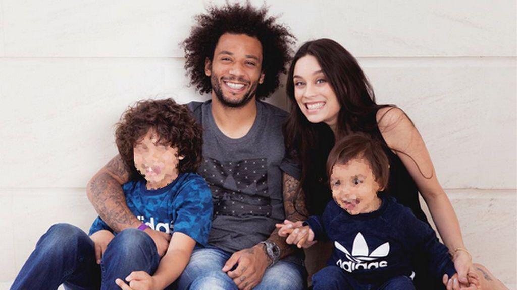 Marcelo les abre una cuenta de Instagram a sus hijos de ocho y dos años