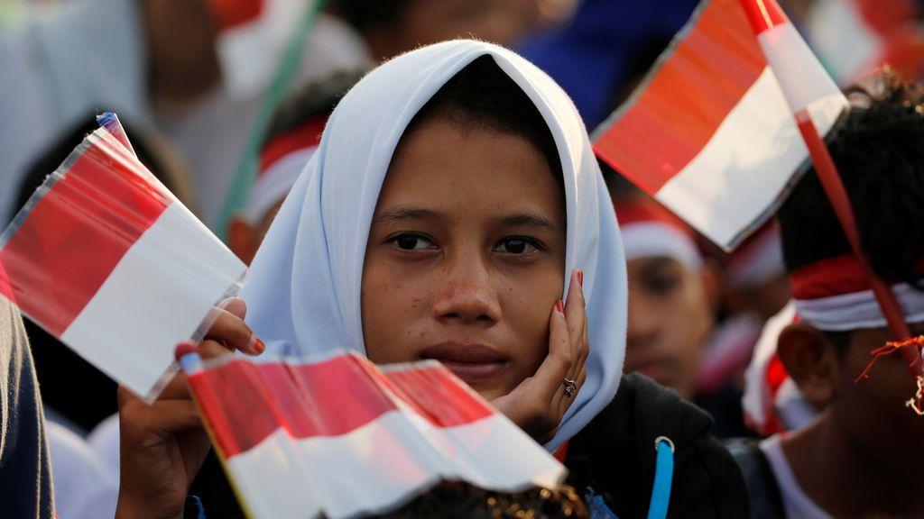 El ejército de Indonesia celebra su 72 aniversario