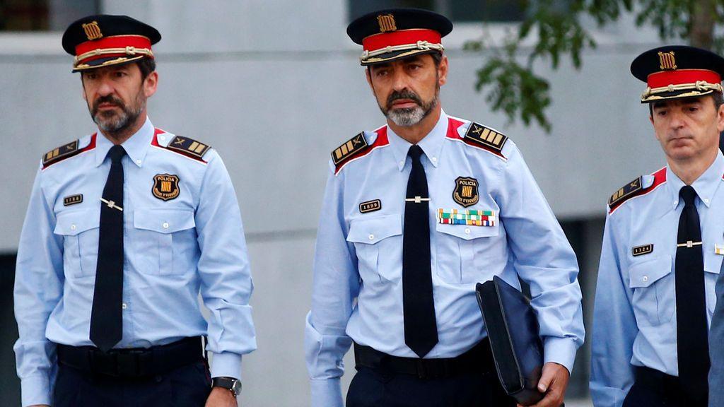 Josep Lluís Trapero de camino al Tribunal Supremo de España para declarar