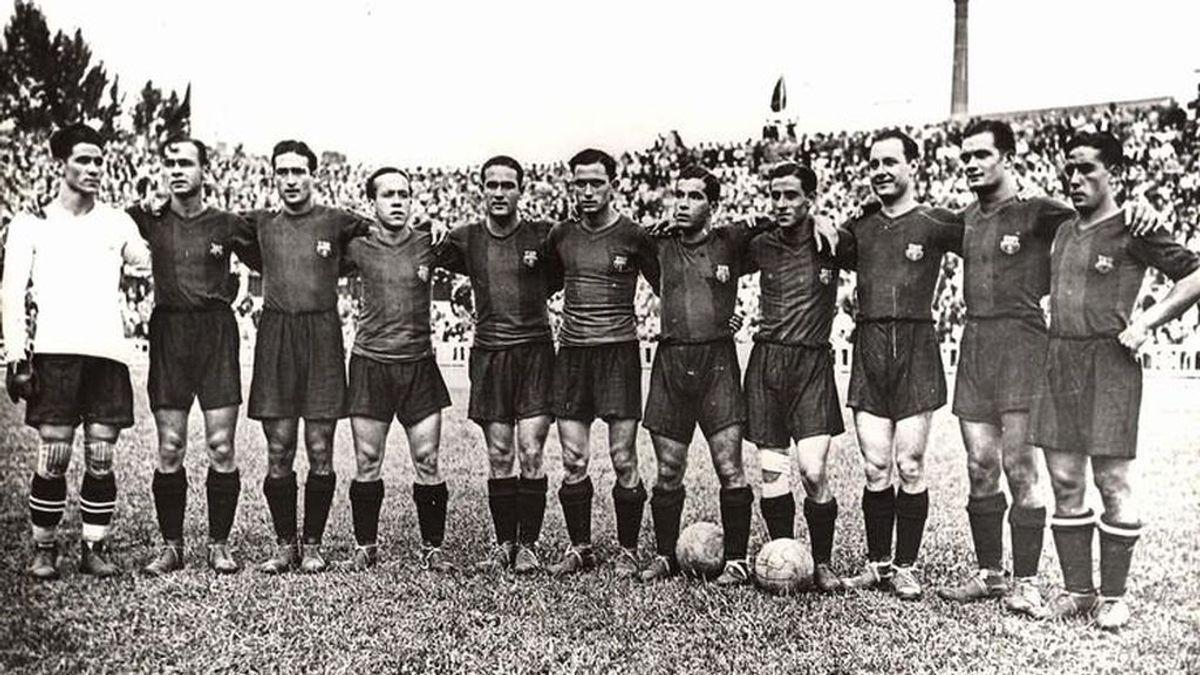 La última vez que Cataluña proclamó la independencia, el Barça quedó penúltimo en La Liga
