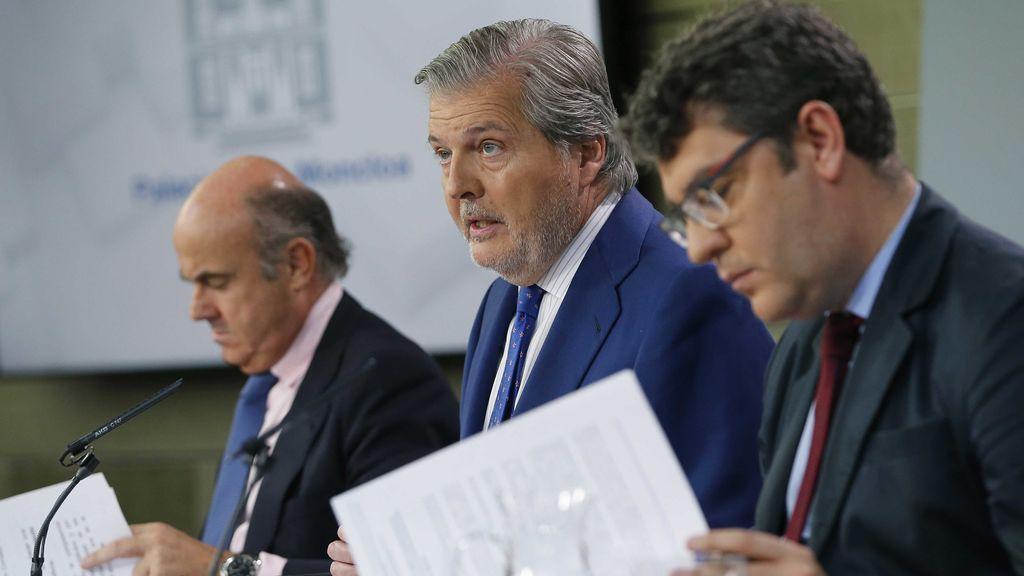 """El Gobierno plantea """"empezar a sellar la fractura"""" en el Parlamento catalán"""