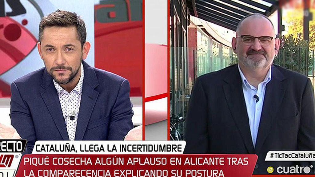 """Losada: """"¿Lo único que tenemos que ofrecerles a los catalanes es el discurso del miedo?"""""""