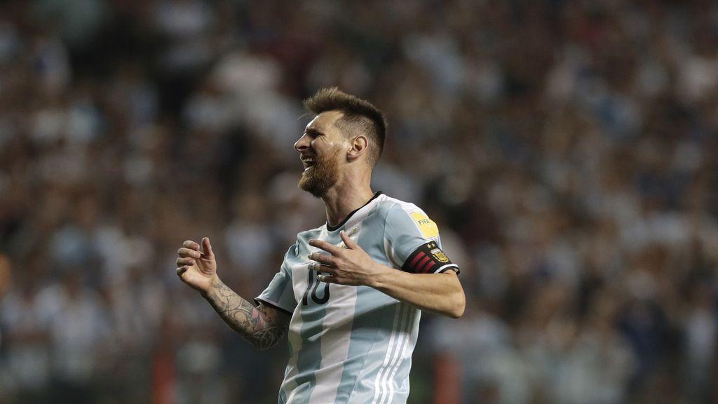 La desolación de Messi tras empatar ante Perú y complicarse el Mundial