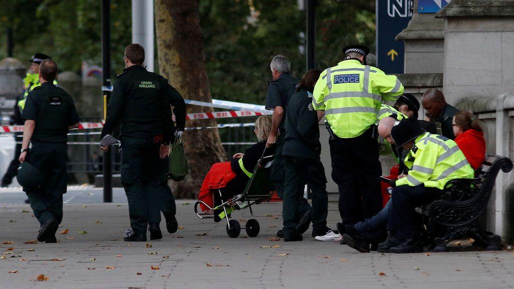 Varios heridos en un atropello junto al Museo de Historia Natural de Londres