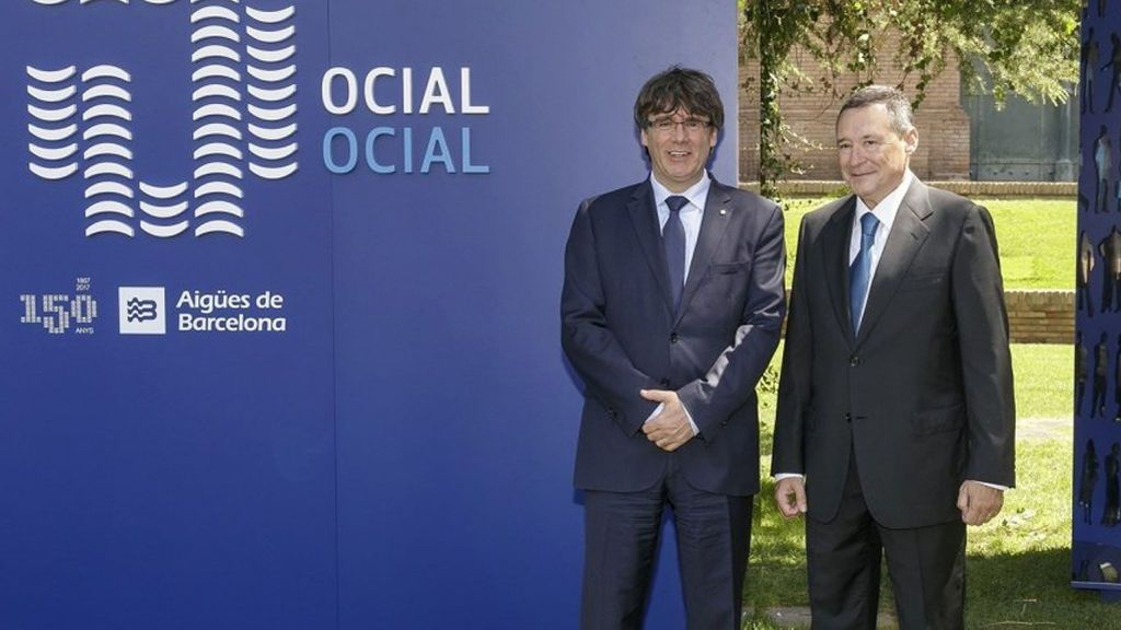 El grupo Agbar anuncia el traslado de su sede social de Barcelona a Madrid