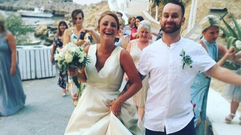 La foto más subida de tono de unos recién casados arrasa en la red