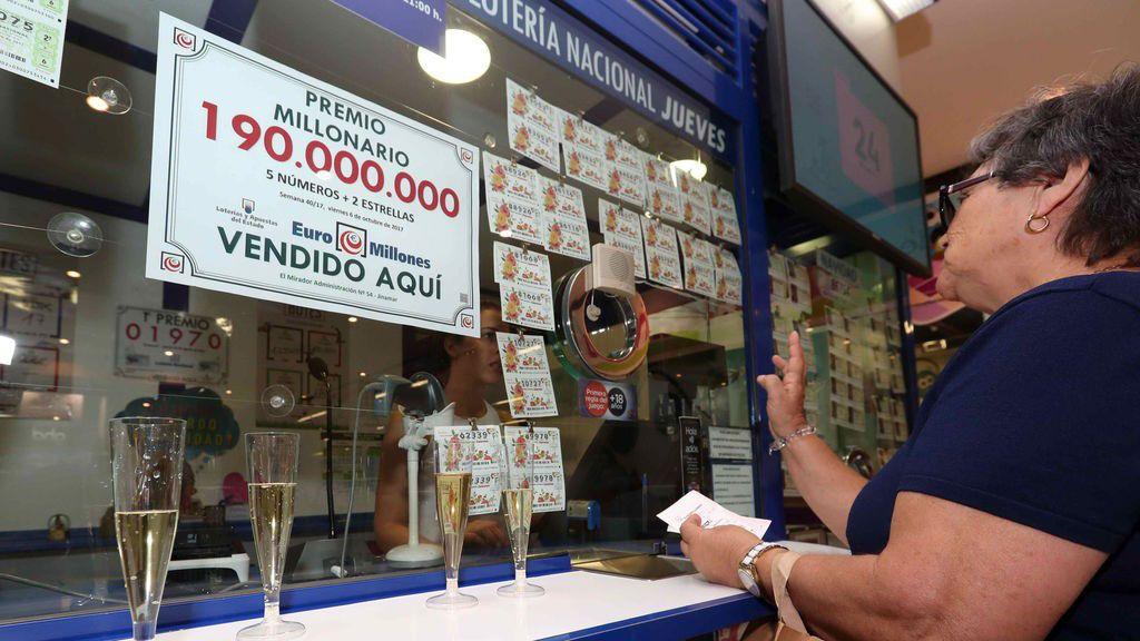 El mayor premio de Euromillones en España cae en Las Palmas