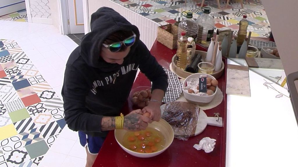 Carlos cocina