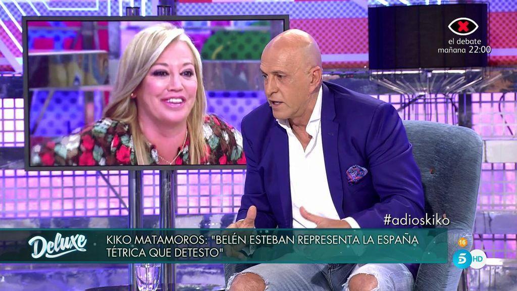 """Kiko Matamoros sobre Belén Esteban: """"Es enemiga de la inteligencia"""""""
