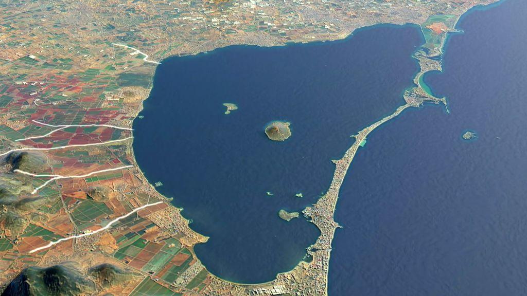 El exceso de nitrato, causante de la agónica muerte del Mar Menor