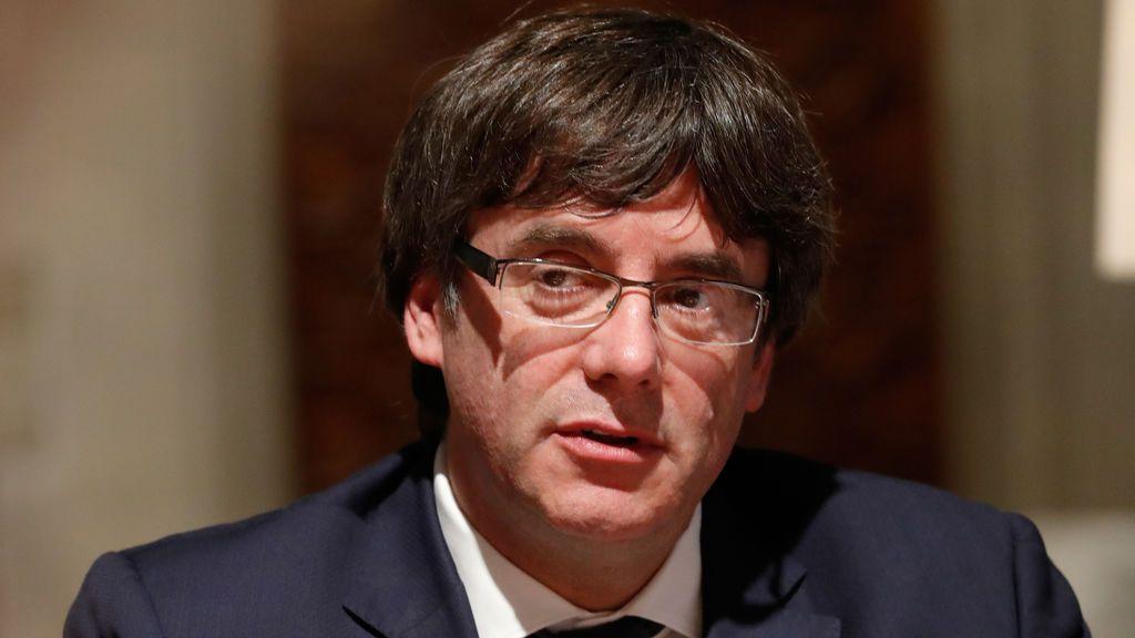 """Puigdemont, sobre la Declaración de Independencia: """"Aplicaremos lo que dice la ley"""""""