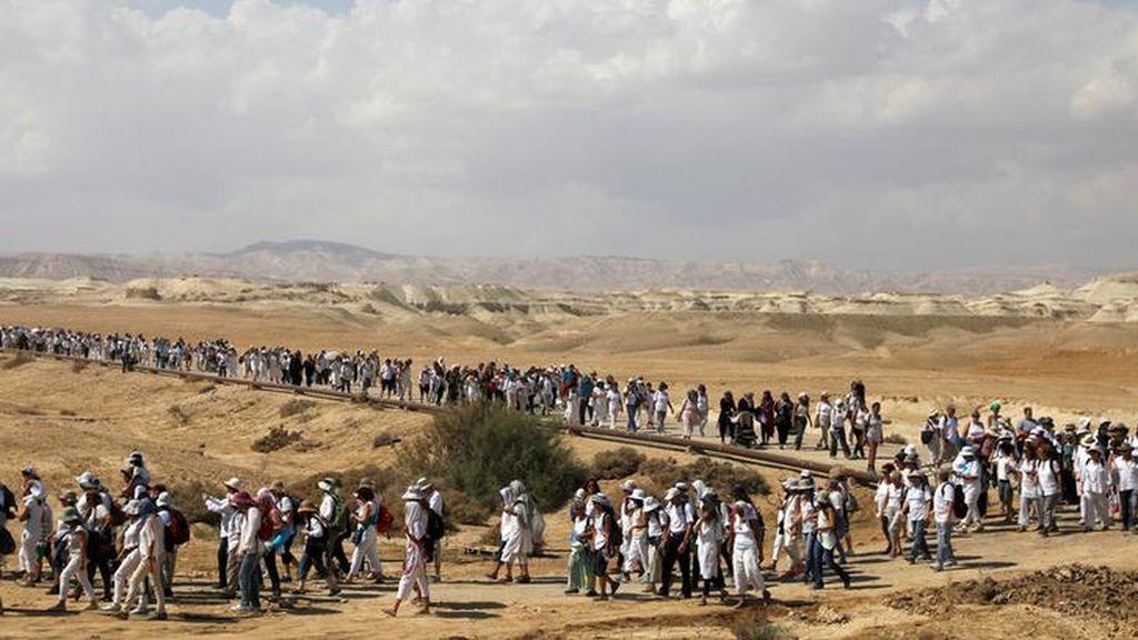 Las mujeres palestinas e israelíes marchan para pedir fin del conflicto entre ambos países