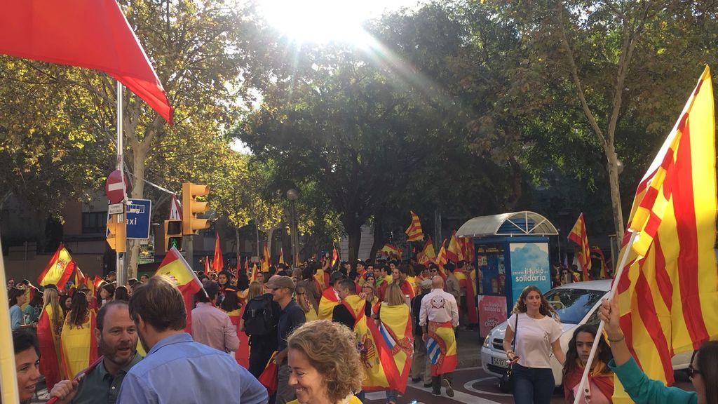 "Societat Civil Catalana llama a la ""mayoría silenciosa"" a acudir a la marcha en Barcelona"