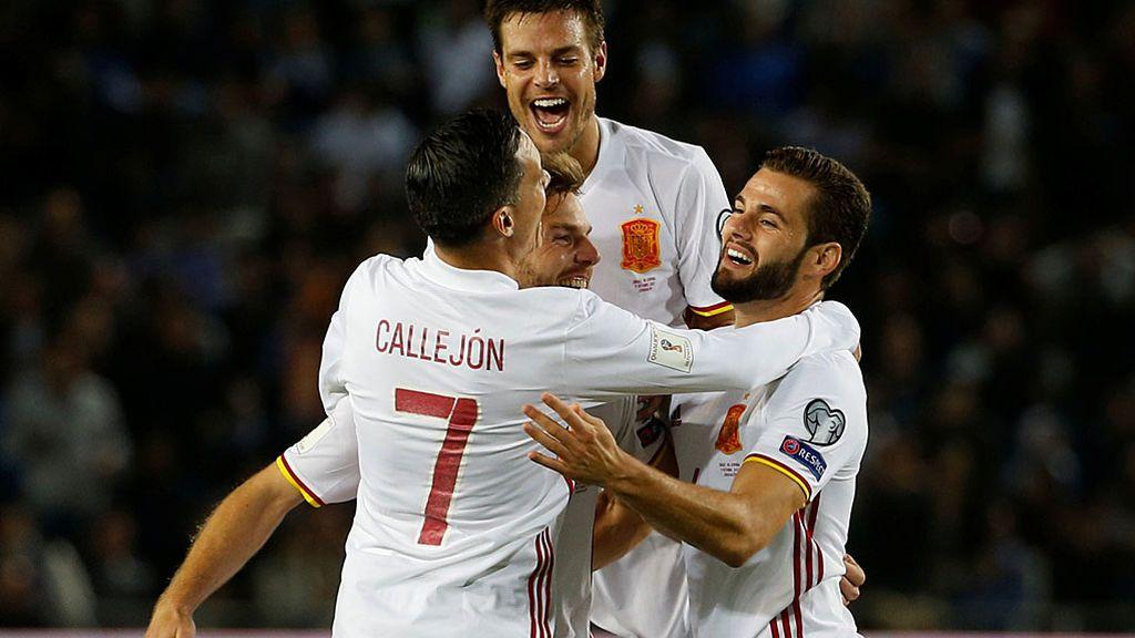 Un golazo de Illarramendi soluciona el trámite de España en Israel (0-1)