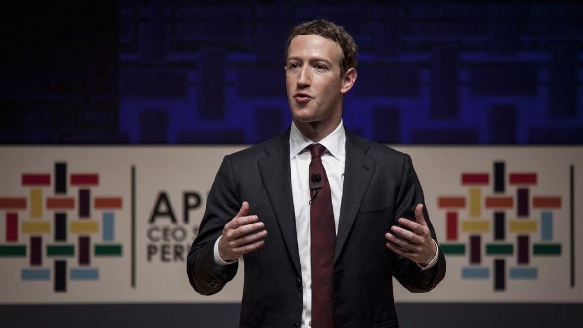 Mark Zuckerberg, creador de la red social Facebook