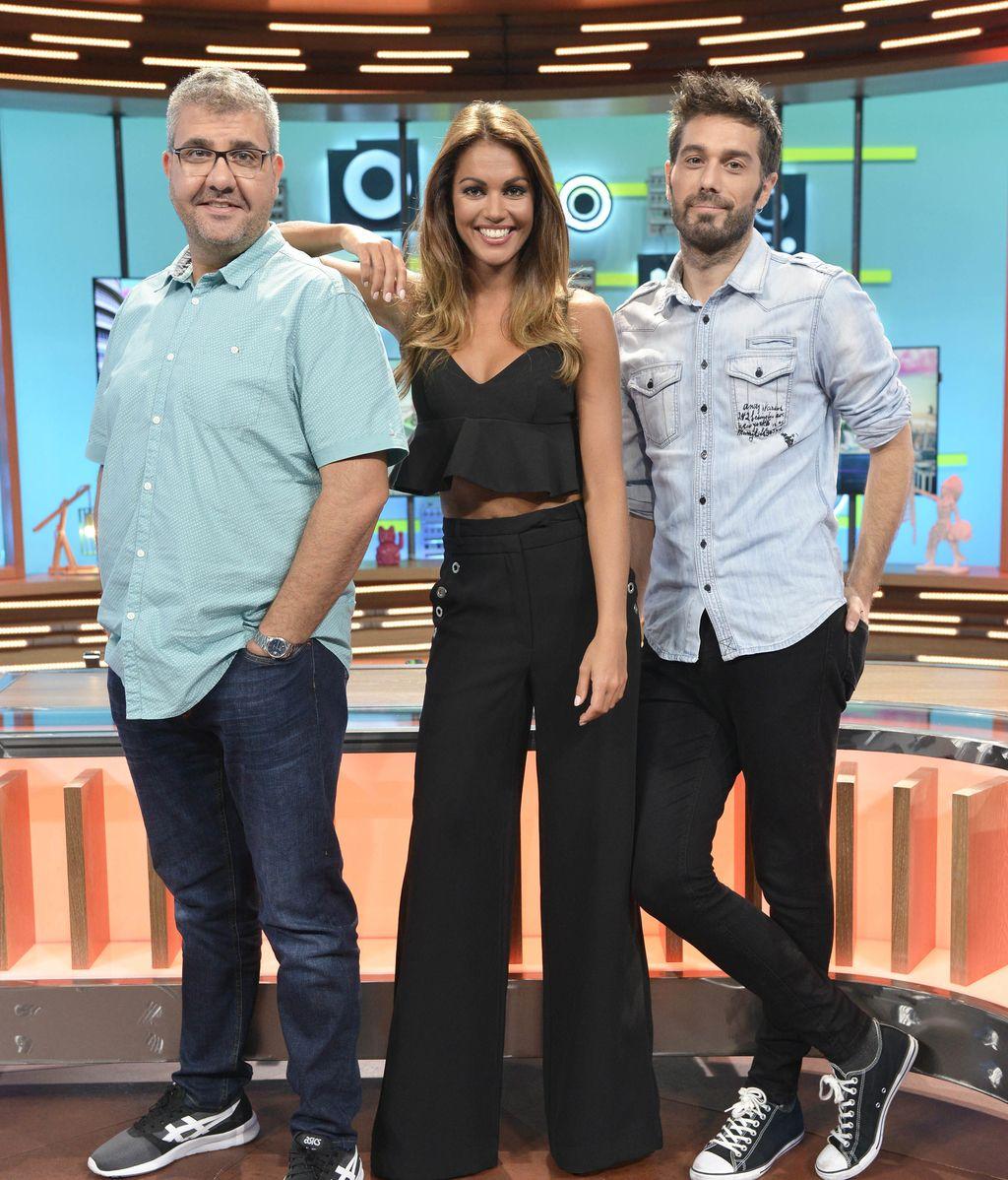 'Dani & Flo' junto a Lara Álvarez estrenan nuevas secciones