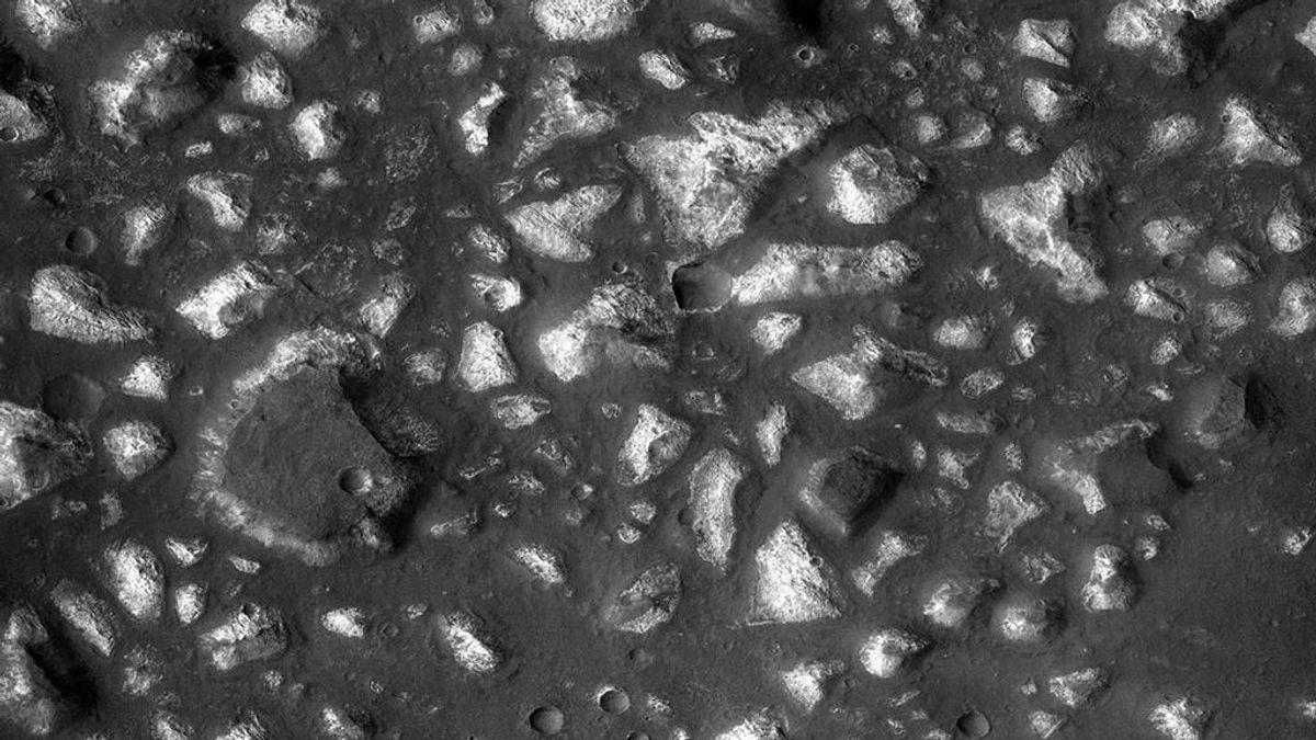 Marte ofrece rastros de antigua actividad hidrotermal submarina