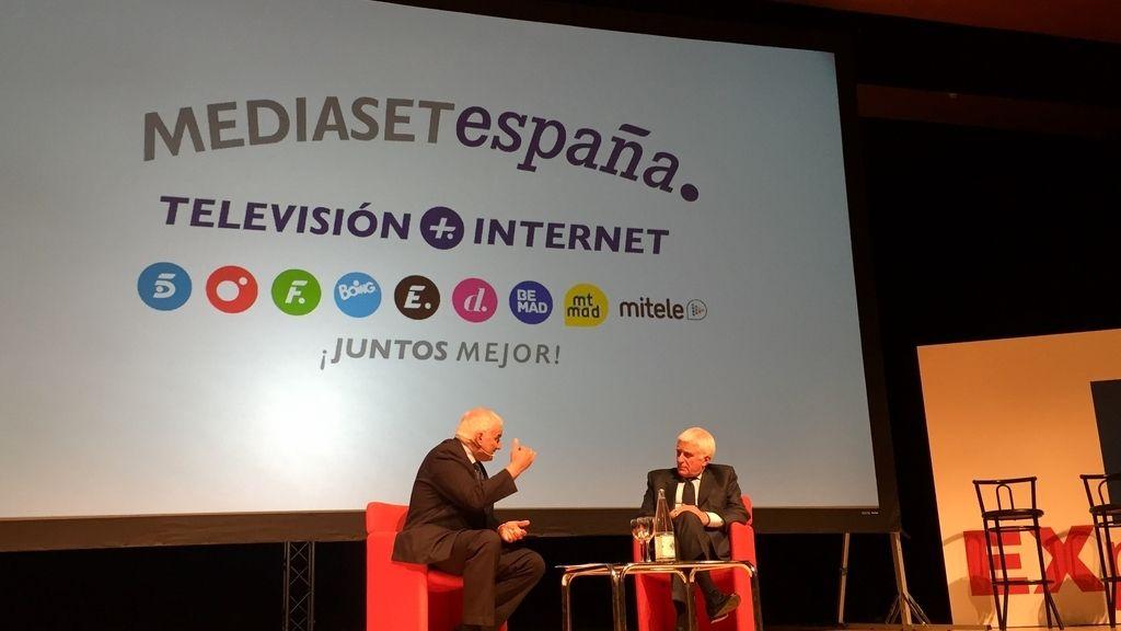 Paolo Vasile, consejero delegado de Mediaset España, invitado de honor en el BIT Experience