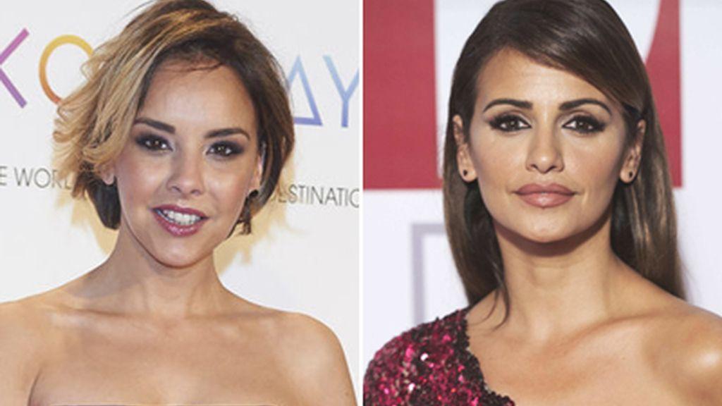 La cantante Chenoa y la actriz Mónica Cruz