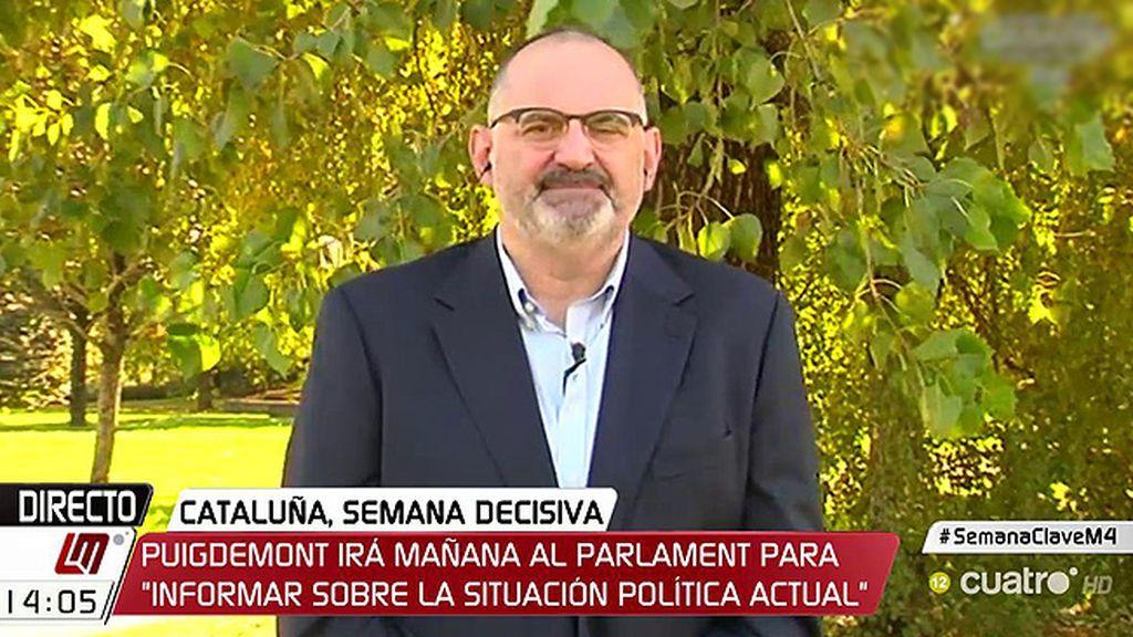 """Losada, sobre Cataluña: """"Ni buenismo ni maximalismo, es la hora de exigir que los políticos hagan política"""""""