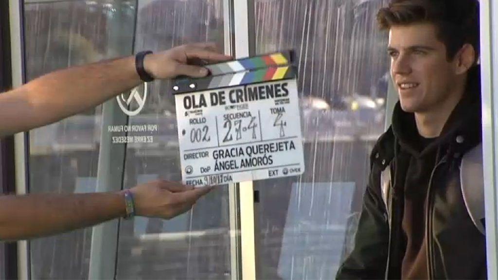 """Comienza el rodaje de la nueva película de Gracia Querejeta """"Ola de crímenes"""""""