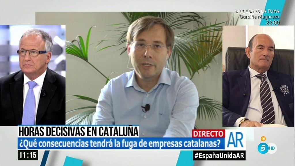 """Marco Hulsewe, empresario en Cataluña: """"No es un discurso del miedo, es saber lo que te juegas"""""""