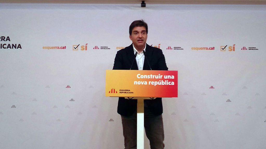 """ERC aboga por """"constituir"""" ya una república manteniendo la puerta abierta al diálogo"""