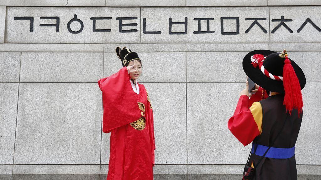 """Corea del sur conmemora el aniversario del alfabeto """"hangeul"""""""