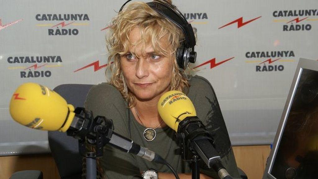 Mónica Terribas, directora y presentadora del programa 'El matí de Catalunya Ràdio'
