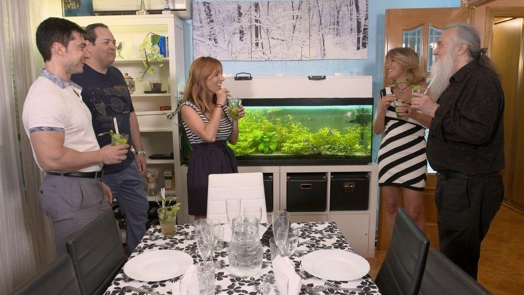 Cinco cenas en Madrid con mucho 'glamour',  futbolines y  'celebrities' en 'Ven a cenar conmigo '