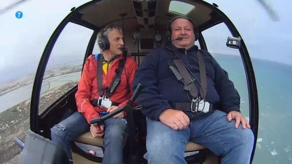 """'Volando voy' con un mensaje de esperanza: """"El Mar Menor no se rinde"""""""