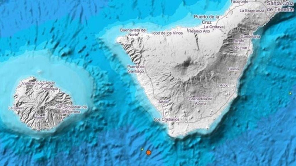 Un terremoto de magnitud 4 sacude Tenerife