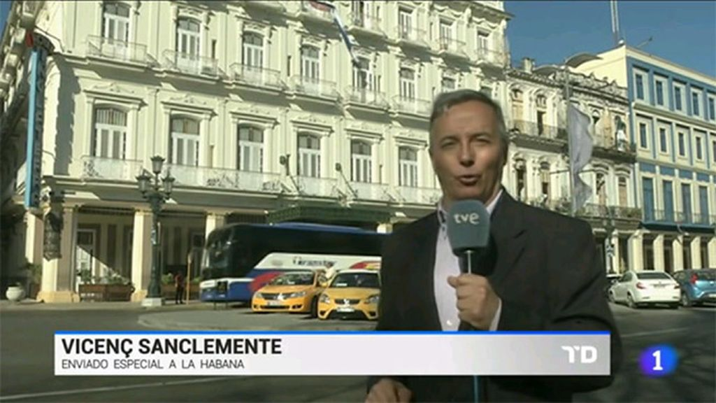 Vicenç Sanclemente, enviado de RTVE a Cuba