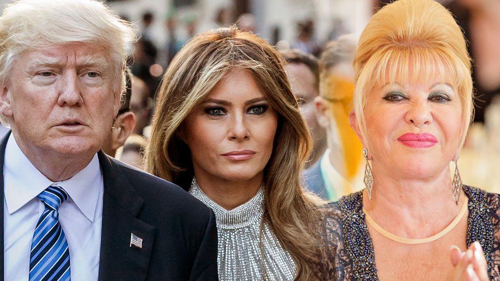 """'Yo soy la primera dama"""" y las otras perlas que Ivana, la ex mujer de Trump, ha soltado en su libro"""