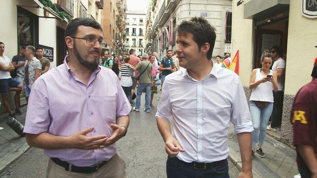 La homofobia, a debate en el programa de Jesús Cintora 'La línea roja', de Cuatro